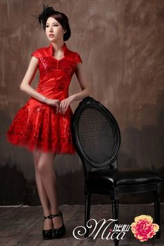 cheongsam  luxury chinese  dress