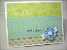 IC277 - Thinking of You by T. Joy - Cards and Paper Crafts at Splitcoaststampers