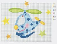 My Cross Stitch Gallery: G76 :: Helicopter and Earthworm