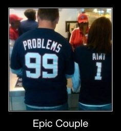 99 problems but she aint one