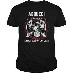 I Love  ADDUCCI FAMILY LIFETIME MEMBER T-SHIRT T shirts #tee #tshirt #named tshirt #hobbie tshirts #adducci