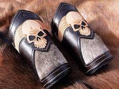 Картинки по запросу leather carving skull pattern