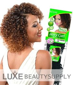 Beshe, one of the leading manufacturer of all this beauty created the popular Beshe Jerry Curl Crochet Braiding Hair which is perfect for braiding and crochet.