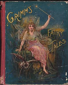 Antique children's book-my parents used to read me these stories at bedtime-no wonder I have so many issues.