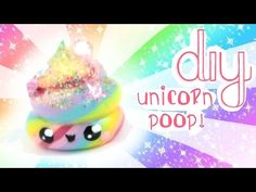 ♡ DIY Kawaii UNICORN POOP Charm!-♡ | Kawaii Friday - YouTube
