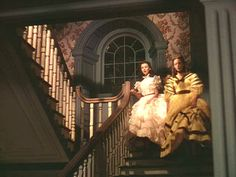 Gone with the Wind Tara staircase