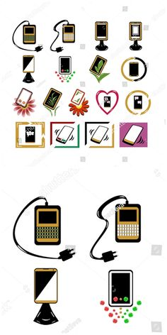 Find Set Different Phone Icons stock images in HD and millions of other royalty-free stock photos, illustrations and vectors in the Shutterstock collection. Graphic Design Illustration, Illustration Art, Illustrations, Phone Icon, Royalty Free Photos, Different, Icons, Symbols, Logo
