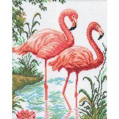 RTO Cross Stitch Kit - Flamingo – Stoney Creek Online Store