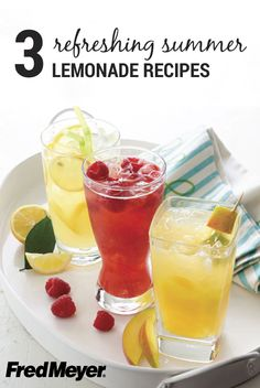 We love turning lemons into lemonade. But, thanks to these 3 Summer Lemonade Recipes from Inspired Gathering, we also can turn raspberries, mangos, and mint into their own version of this refreshing summer drink!
