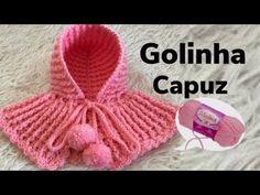YouTube Crochet Hooded Scarf, Crochet Baby Bonnet, Crochet Baby Cardigan, Crochet Baby Clothes, Knit Crochet, Crochet Hats, Crochet Stitches Patterns, Crochet Patterns For Beginners, Crochet Designs