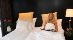 Slik f?r du sove p? hotellet Slik f?r du sove godt den f?rste natten p? hotell