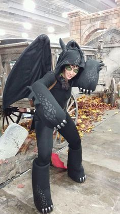 My toothless cosplay @ SLC Comic Con 2014