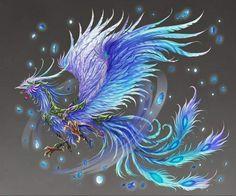 Phoenix by Zero-Position-Art - Phenix - Birds Phoenix Artwork, Phoenix Images, Phoenix Bird Tattoos, Phoenix Tattoo Design, Crow Tattoos, Ear Tattoos, Mythical Creatures Art, Magical Creatures, Dragon Art