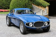 Osca MT4 berlinetta is one of the four bodied by Vignale in 1952