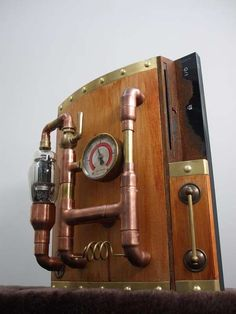 Steampunked PS3 Brings Old School to the Future #steampunk #victorian trendhunter.com