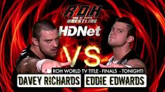 SNEAK PEEK - Edwards vs. Richards - ROH World TV Title Finals