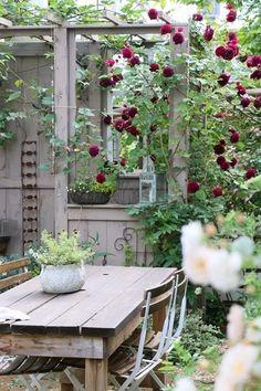 beautiful small cottage garden design ideas for backyard inspiration 85 Back Gardens, Outdoor Gardens, Gazebos, Shabby Chic Garden, Cottage Garden Design, Garden Spaces, Dream Garden, Garden Inspiration, Beautiful Gardens