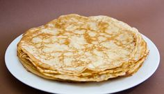 Crepes Simples Think Food, Pizza, Easy, Pancakes, Food And Drink, Gluten Free, Cooking Recipes, Nutrition, Breakfast
