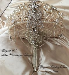 Hey, I found this really awesome Etsy listing at https://www.etsy.com/listing/192168357/champagne-brides-bouquet-deposit-for-a