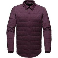 Chilly nights are just around the corner, so stay warm with The North Face Men's Send It Jacket when you head out on the town. Heatseeker insulation offers lightweight, low-profile warmth so you don't start shivering on the walk from the rideshare to the restaurant, and it has the casual look of a button-down to help you maintain your low-key style when you duck into a bar later to catch some live music.