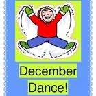 """DECEMBER DANCE!"" - ACTIVE HOLIDAY FUN!  ""Singing my December Song!  You can sing it, too!""  Need a ""wiggle-releaser"" or an easy HOLIDAY PROGRAM SONG?  This activity has all the rhyme, rhythm, and fun that you need!  Your kids will sing, dance, march, shout, and even spell out 'DECEMBER'!  Learn a fun song to a familiar tune (""This Little Light of Mine"").  Large templates for D-E-C-E-M-B-E-R are provided.  Add shakers or bells for a stress-free holiday!  (15 pages)  Joyful Noises Express TpT!  $"