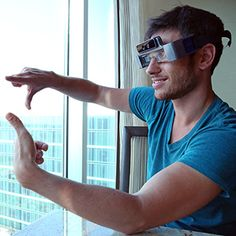 A Wearable Computer More Powerful than Glass, and Even More Awkward A startup that makes 3-D glasses stands out, in part, by including Steve Mann on its team.