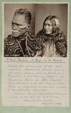 Topic: King Tawhiao's fern collection Polynesian People, Polynesian Art, Tonga, Tahiti, Ta Moko Tattoo, Maori Tribe, Nz History, New Zealand Tattoo, Maori People