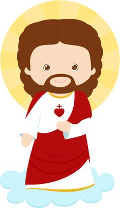 Jesus character SVG file and clipart Catholic Art, Catholic Saints, Infant Curriculum, Heart Of Jesus, Corpus Christi, Sacred Heart, New Years Eve Party, Clipart, Jesus Christ