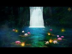 Relaxing Sleep Music + Insomnia - Stress Relief, Relaxing Music, Deep Sleeping Music - YouTube Cant Sleep Remedies, Relaxing Music, Insomnia, Stress Relief, Waterfall, Painting, Outdoor, Deep, Walk In