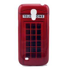 Cas de couverture de boîte téléphonique rouge Motif arrière dur pour Samsung Galaxy S4 Mini I9190 – EUR € 3.77