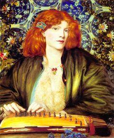 The Blue Bower, Dante Gabriel Rossetti