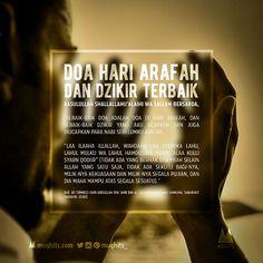 Doa Hari Arafah dan Dzikir Terbaik