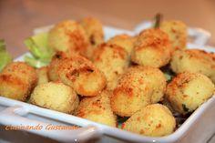 Crocchette di patate al forno con latte