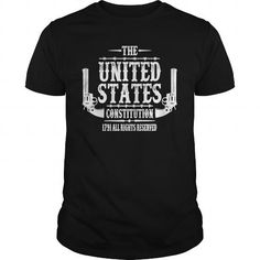 Cool and Awesome The United States Constitution, 1791 All Rights Shirt Hoodie