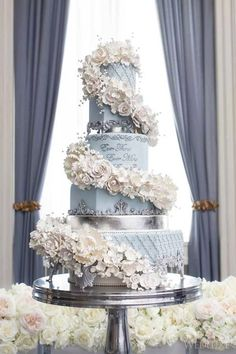 Indescribable Your Wedding Cakes Ideas. Exhilarating Your Wedding Cakes Ideas. Amazing Wedding Cakes, Elegant Wedding Cakes, Wedding Cake Designs, Glamorous Wedding, Extravagant Wedding Cakes, Luxury Wedding Cake, Elegant Cakes, Wedding Cupcakes, Amazing Cakes