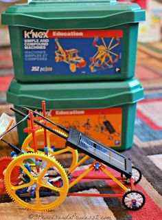 Win It: Bring educational play to your home this holiday season making a great gift for a teacher or student, K'NEX would like to offer one lucky reader the The K'NEX® Education Simple and Compound Machines Building Set.