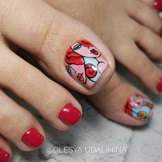 Cute Toe Nails, Cute Toes, Toe Nail Art, Toe Nail Designs, Female Feet, Nailart, Nail Polish, Fancy, Pretty
