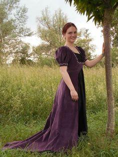http://fjalladis.de/pauline-bonaparte/ Marie Pauline Bonaparte cosplay costume Historisches kleid historical costume Empire Überkleid