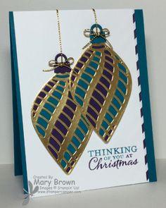 Stampin' Up! Delicate Ornaments, CCMC382