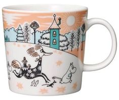 Moomin Mugs from Arabia – A Complete Overview Moomin Valley Park Japan The motif comes from an advertisement for a Swedish bank in The mug is only for sale in the Moomin theme park in Hanno outside of Tokyo. Coffe Mug Cake, Coffee Mugs, Moomin Mugs, Moomin Valley, Coffee Mug Quotes, Valley Park, Tove Jansson, Helsingborg, Crafts To Do