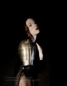 Joan of Arc editorial, photographed by Paola Leonardi for All Hollow Magazine. Styling Ana Rita Bracker Model Elisa @Amy Bullock Models MUA Ashley McLaughlin