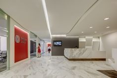 Jones Lang LaSalle | Reception Area Interior Design | by H.Hendy Associates