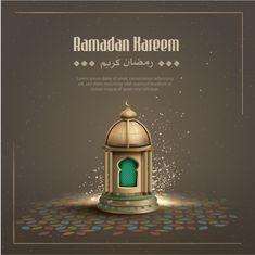 Islamic greetings ramadan kareem background with crescent moon and lantern Eid Background, Cherry Blossom Background, Pink And White Background, Gold Glitter Background, White And Pink Roses, Festival Background, Mubarak Ramadan, Islam Ramadan, Eid Card Designs