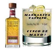 From 4-6pm on Cinco de Mayo, Phoebe's is having a Margarita Tasting! We're using Olmeca Alto 100% Agave Tequila. Don't miss out ~ come FIESTA AT PHOEBE'S!