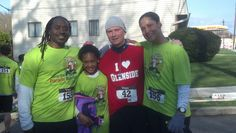"""Celebrating the """"Keep the Parade Running"""" 5K in Glenside with Russell Swan from Survivor.  Always the competitor!  I ♥ Glenside!"""