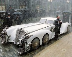 This was great part of the movie.They call it an Automobile...The League of Extraordinary Gentlemen.