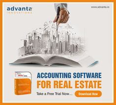 Manage your real estate business with the best accounting software for real estate available at Advanta Innovations.   For more details visit - https://advanta.io/  #realestate #accountingsoftware #realestatebusiness #software #realestatebusiness