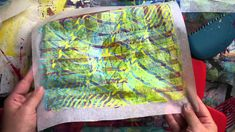 #BalzerDesign does a great review of the Gelli Printing Tools: Exploring Gelli Combs: Square Teeth