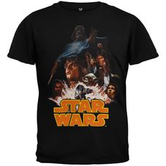 Star Wars - Poster Juvy T-Shirt | OldGlory.com