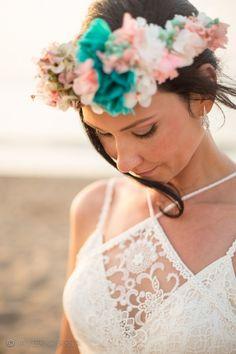 Fotógrafo de bodas. Boda en la playa. Beach #wedding. The #bride